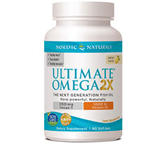 Nordic Naturals Ultimate Omega 2X with D3