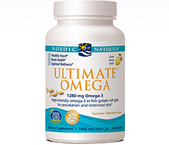 Nordic Naturals Ultimate Omega in Fish Gelatin
