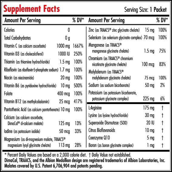 Information Label for Oxylent Adult